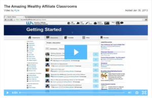 The Amazing Wealthy Affiliate Classrooms