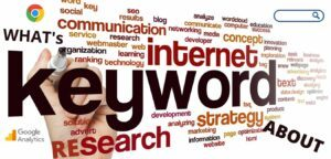 What's keyword research about